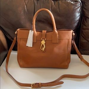 NWT Dooney & Bourke Large Amelie Tote - Natural